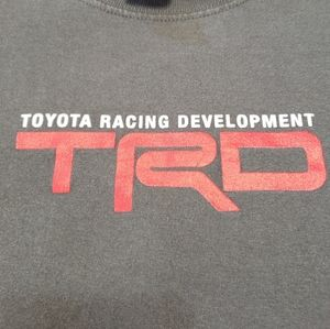 TOYOTA Racing Development Grey Cotton Long Sleeve